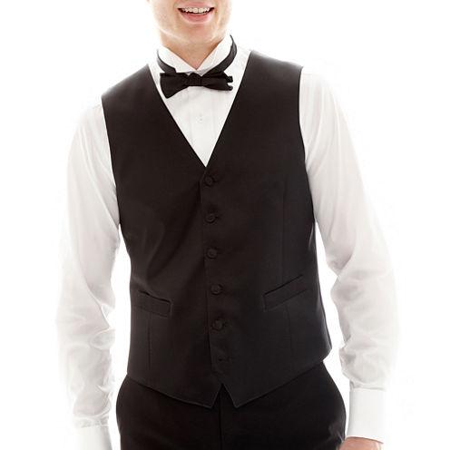 JF J. Ferrar® Tuxedo Vest - Slim