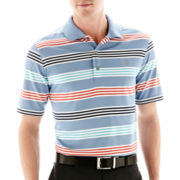 IZOD® Striped Jersey Polo