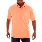 The Foundry Supply Co.™ Short-Sleeve Slub Polo Shirt–Big & Tall