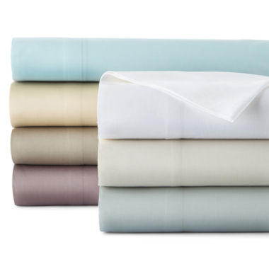 jcpenney.com | Liz Claiborne® 300tc Liquid Pima Cotton Sheet Set