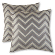 Chevron 2-pk. Decorative Pillows