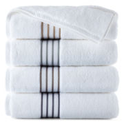 Royal Velvet® Egyptian Cotton Striped Dobby Bath Towels