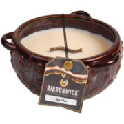 RibbonWick® Round Red Chai Candle