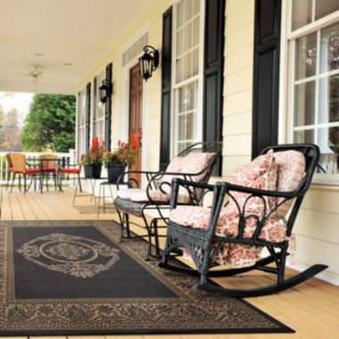 jcpenney.com | Couristan® Antique Medallion Indoor/Outdoor Rectangular Rug