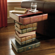 Table of Books Accent Table