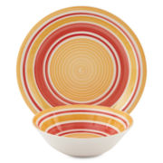 jcp home™ Swirls Round Completer Set