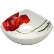 Red Vanilla Summer Sun Set of 6 Bone China Bowls