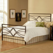 Hazen Metal Bed or Headboard