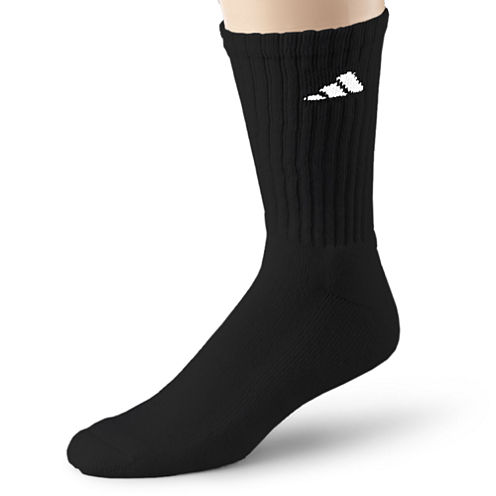 adidas® Mens 6-pk. Athletic Cushioned Crew Socks