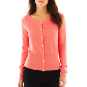 Worthington® Boatneck Cardigan Sweater