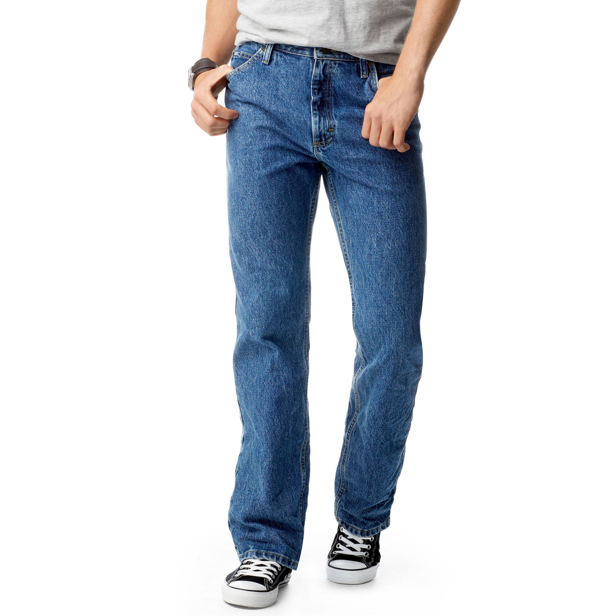 Lee Regular Fit Straight Leg Jeans-Big & Tall