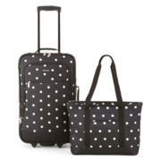Protocol® Moreno 2-pc. Polka Dot Carry-On Luggage Set