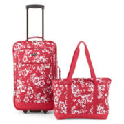 Protocol® Moreno 2-pc. Tropical Carry-On Luggage Set