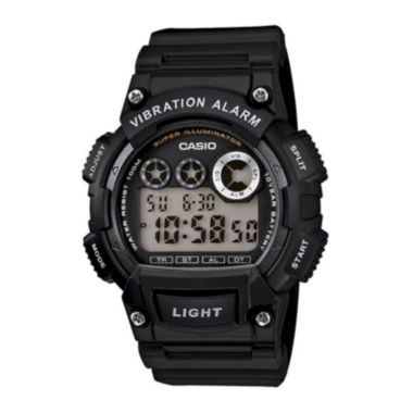 jcpenney.com | Casio® Mens Black Resin Strap Digital Sport Watch W735H-1AVCF