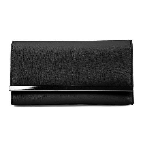 Mundi® File Master Saffiano Solid Wallet