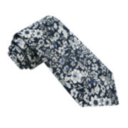 Stafford® Allover Floral Tie