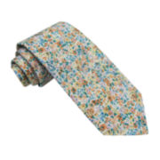 Stafford® Allover Floral Tie