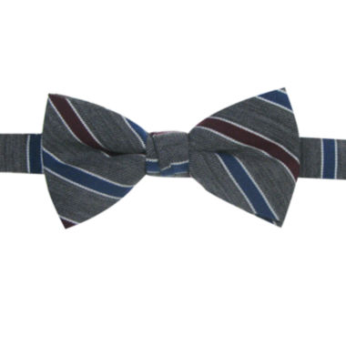 jcpenney.com | Haggar® Wool Blend Stripe Pre-Tied Bow Tie