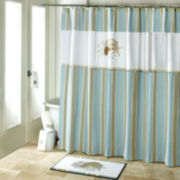 Avanti By the Sea Bath Shower Curtain