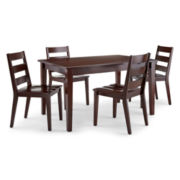 Dining Possibilities 5-pc. Standard-Height Rectangular Dining Set