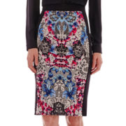 nicole by Nicole Miller® Print Pencil Skirt