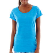 Xersion™ Short-Sleeve Crewneck Burnout T-Shirt