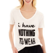 i jeans by Buffalo Short-Sleeve 'Nothing to Wear' Screen Tee