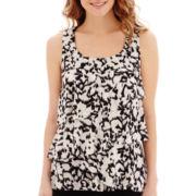 Alyx® Mesh-Trim Floral Print Tank Top