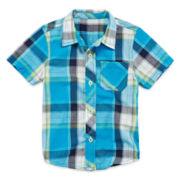 Arizona Short-Sleeve Button-Front Classic Shirt – Boys 3m-24m