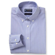 Stafford® Executive Non-Iron Cotton Pinpoint Oxford Shirt - Slim