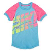 Nike® Dri-FIT Short-Sleeve Athletic Tee - Girls 4-6x