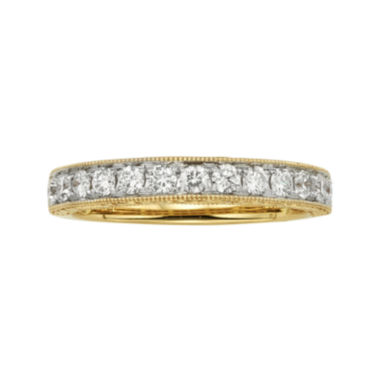 jcpenney.com | 1/2 CT. T.W. Certified Diamond 14K Yellow Gold Wedding Band