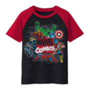Marvel Comics Short-Sleeve Graphic Raglan Tee – Boys 8-20