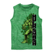 Hulk Graphic Muscle Tee – Boys 8-20
