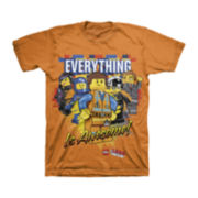 The Lego Movie Short-Sleeve Graphic Tee – Boys 4-7