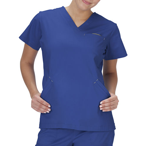 Bio Stretch Short-Sleeve Angle Top - Plus