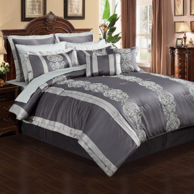 jcpenney.com | Dynasty 12-pc. Complete Bedding Set with Sheets