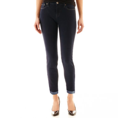 jcpenney.com | Stylus™ Roll-Cuff Skinny Ankle Jeans - Petite