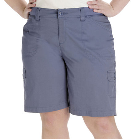 Lee Izzy Relaxed-Fit Cargo Bermuda Shorts - Plus