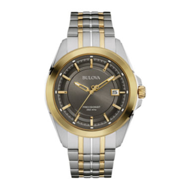 jcpenney.com | Bulova® UHF Precisionist Mens Two-Tone Stainless Steel Watch 98B273