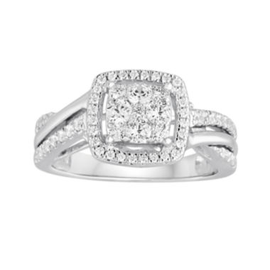 jcpenney.com | I Said Yes™ 5/8 CT. T.W. Diamond 10K White Gold Engagement Ring