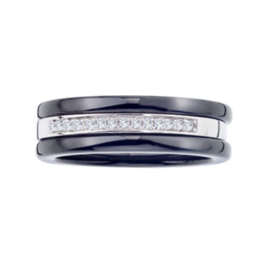 jcpenney.com | 1/10 CT. T.W. Diamond Two-Tone Stackable 3-pc. Wedding Band Set