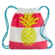 Capelli New York Kids Pineapple Beach Towel Bag