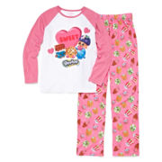 Shopkins 2-pc. Pajama Set - Girls 4-8