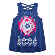 Arizona Crisscross Back Tank Top - Preschool Girls 4-6x