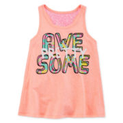Okie Dokie® Swing Tank Top - Preschool Girls 4-6x