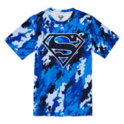 Superman Sublimated Logo Tee - Boys 8-20