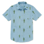 Arizona Short-Sleeve Woven Shirt - Boys 8-20