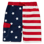 Arizona Stars and Stripes Swim Trunks - Preschool Boys 4-7