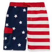 Arizona Stars and Stripes Swim Trunks - Preschool Boys 4-7